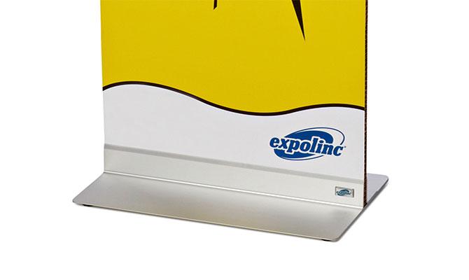 Fußplatten für alle Plattenmaterialien bis zu 18 mm Dicke